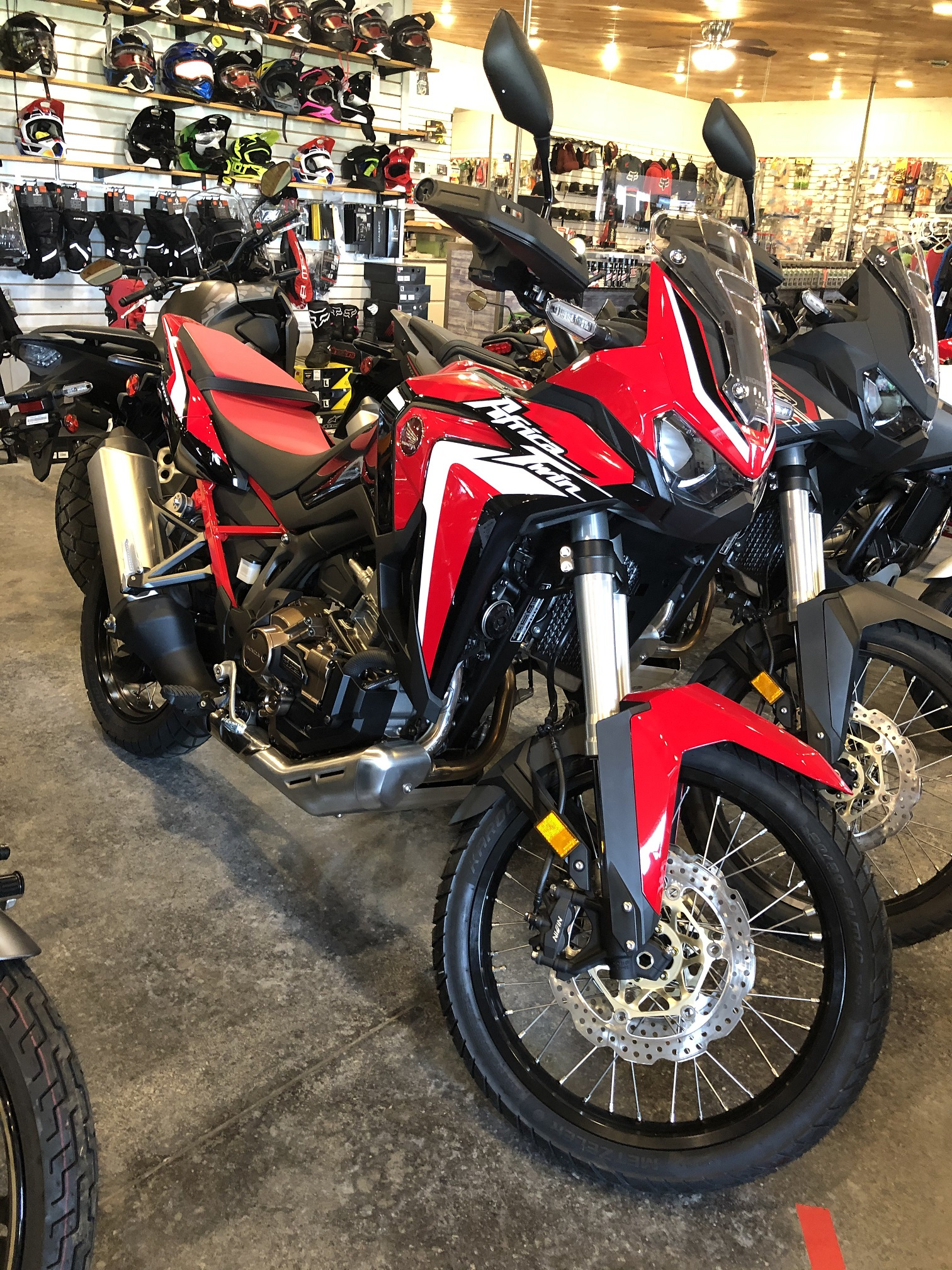 red africa twin